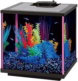 Aqueon NeoGlow LED Aquarium Kit Pink, 5.5 gallon/17