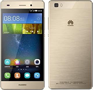 Huawei P8 Lite ALE-L21 16GB Gold, Dual Sim, 5-Inch, Unlocked Smartphone, International Stock, No Warranty, GSM ONLY, No CDMA