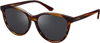 Vintage Polarized Sunglasses for Women UV Protection Stylish Acetate Frame