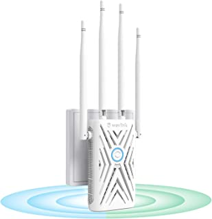WAVLINK AC1200 WiFi Extender/Repeater, Dual Band 2.4GHz and 5GHz Available Wireless Range Repeater Signal Amplifier Booste...