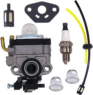 FitBest Carburetor with Fuel Line Kit for Honda 4 Cycle Engine GX31 GX22 FG100 16100-ZM5-803 GCA91 Carb