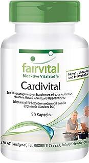 Cardivital - Vitaminas para el corazón - Rico multivitamínico sin vitamina K - 90 Cápsulas - Calidad Alemana
