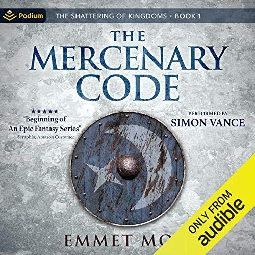 The Mercenary Code Audiobook By Emmet Moss cover art