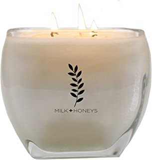 White Tea Ginger Scented Candle - 15oz, 3 Wicks, 100% Soy