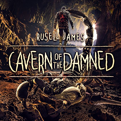 Cavern of the Damned audiobook cover art