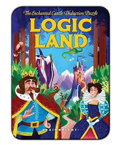 Brainwright Logic Land  The Enchanted Castle Deduction Puzzle