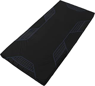 東京西川 [AIR(エアー)] マットレス ブルー セミシングル(キング対応) 高反発 厚み9cm シングル 硬さハード HWB8809001B