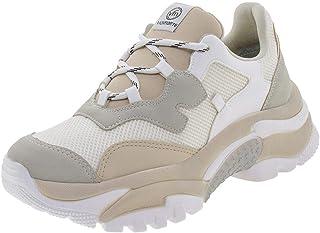 27c4daf5c Tênis Feminino Dad Sneaker Via Marte - 197441 Branco/bege