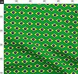 Brasilien Stoffe - Individuell Bedruckt von Spoonflower -