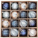 Valery Madelyn 16 Piezas Bolas de Navidad de 8cm,...