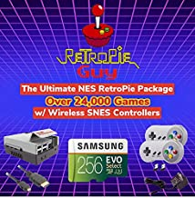 $265 » Sponsored Ad - RetroPie Guy NES Ultimate Wireless SNES RetroPie Package - Raspberry Pi 4 Console Controllers Cables & Over...