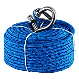 Amarine Made Boat Premium Anchor Rope for Electric Winches 3/16' x 100'