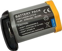 XITAI 10.8V 2700mAh 29.2Wh LP-E19 Repuesto Batería para Canon EOS 1DX, 1DX Mark 2, EOS 1D Mark III, 1Ds Mark III, EOS 1D Mark IV, 1D Mark4, EOS 1Ds Mark IV, EOS-1D C, 1D, 1Ds