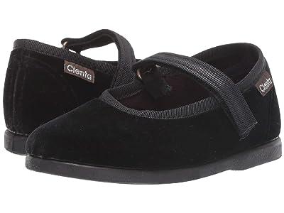 Cienta Kids Shoes 400075 (Infant/Toddler) (Black) Girl