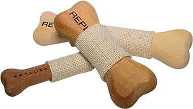 ペットおもちゃ REPLUS ニームボーン SSサイズ 噛むおもちゃ 硬め 木製おもちゃ 11cm