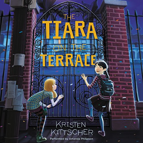 The Tiara on the Terrace audiobook cover art