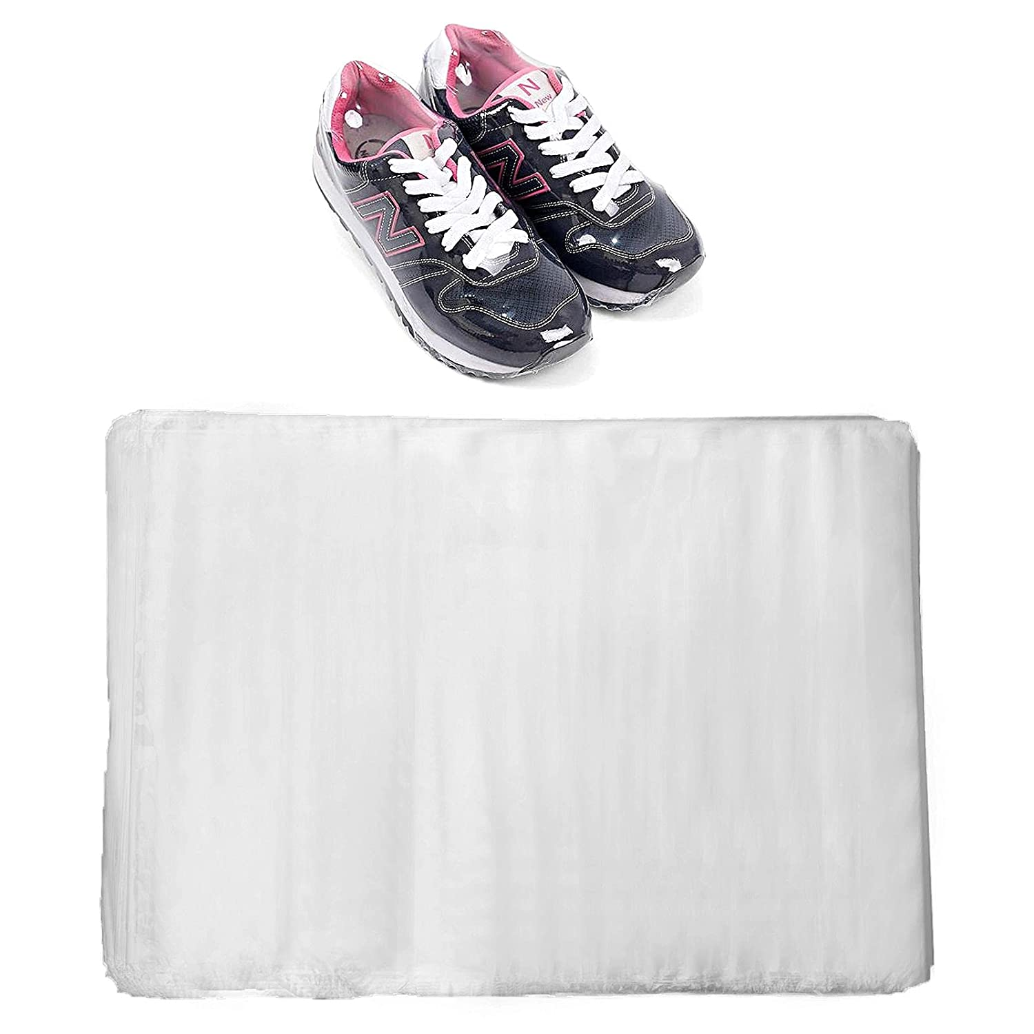 PETTYOLL 200PCS Shrink Wrap Bags Challenge the lowest price for Shoes 15 10 Max 79% OFF Hea x POF Inch