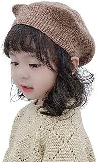 YiyiLai Baby Girls Toddler Cartoon Ear Knit Berets Soft Winter Hat Warm Cap Khaki
