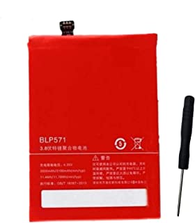 Ammibattery Replacement 3.8V 3100mAh BLP571 Battery for OnePlus One Smartphone One Plus One 1+ with Tools