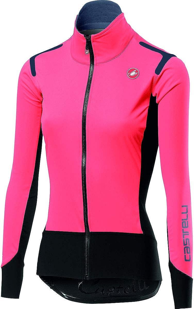 Castelli Amore Women/'s Full Zip Maillot de cyclisme Azur