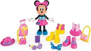 Minnie Mouse- Fashion Dolls 2: Viajera, (IMC Toys 182905)