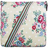 Miss Lulu Canvas Messenger Bag Floral Dots Beige L1104F BG