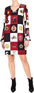 Silvian Heach Luxury Fashion Womens CVA19211VEFANTASY Burgundy Dress | Fall Winter 19