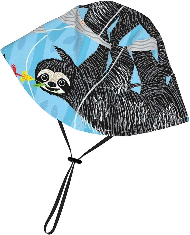 Panda Kid Sun Hats Toddler Breathable Bucket Uv Protection Adjustable for Boy Girl Cap