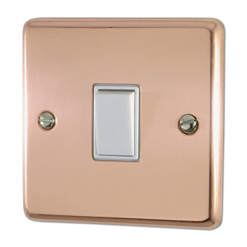 Coffee Luxurious Single Light Switch Stickers Home Switch Plate Panel Cover for Room Decoration