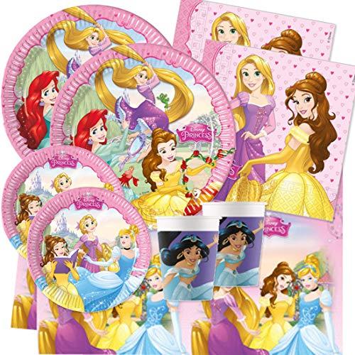 Procos IRPot - Kit N 42 Coordinato TAVOLA Compleanno Principesse Disney