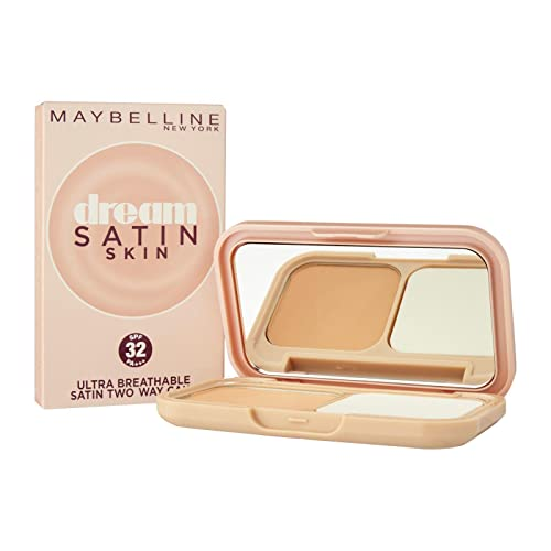 Maybelline New York Dream Satin Two-Way Cake SPF 32/PA+++, B3 Natural, 9g