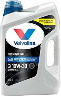 Valvoline  Daily Protection SAE 10W-30 Conventional Motor Oil 5 QT