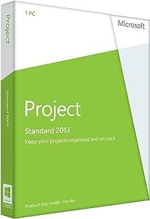 MICROSOFT Project Standard 2013 32/64-bit - License - 1 PC / 076-05068 /