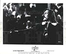 Historic Images - 1990 Press Photo Gerard Depardieu in Jean-Paul Rappeneau's Cyrano de Bergerac