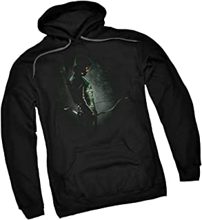 in The Shadows - CW`s Arrow TV Show Adult Hoodie Sweatshirt