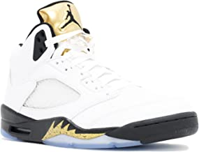 Air Jordan 5 Retro Olympic (Gold Metal) 136027-133 August 20, 2016 Release Men's Size (9)