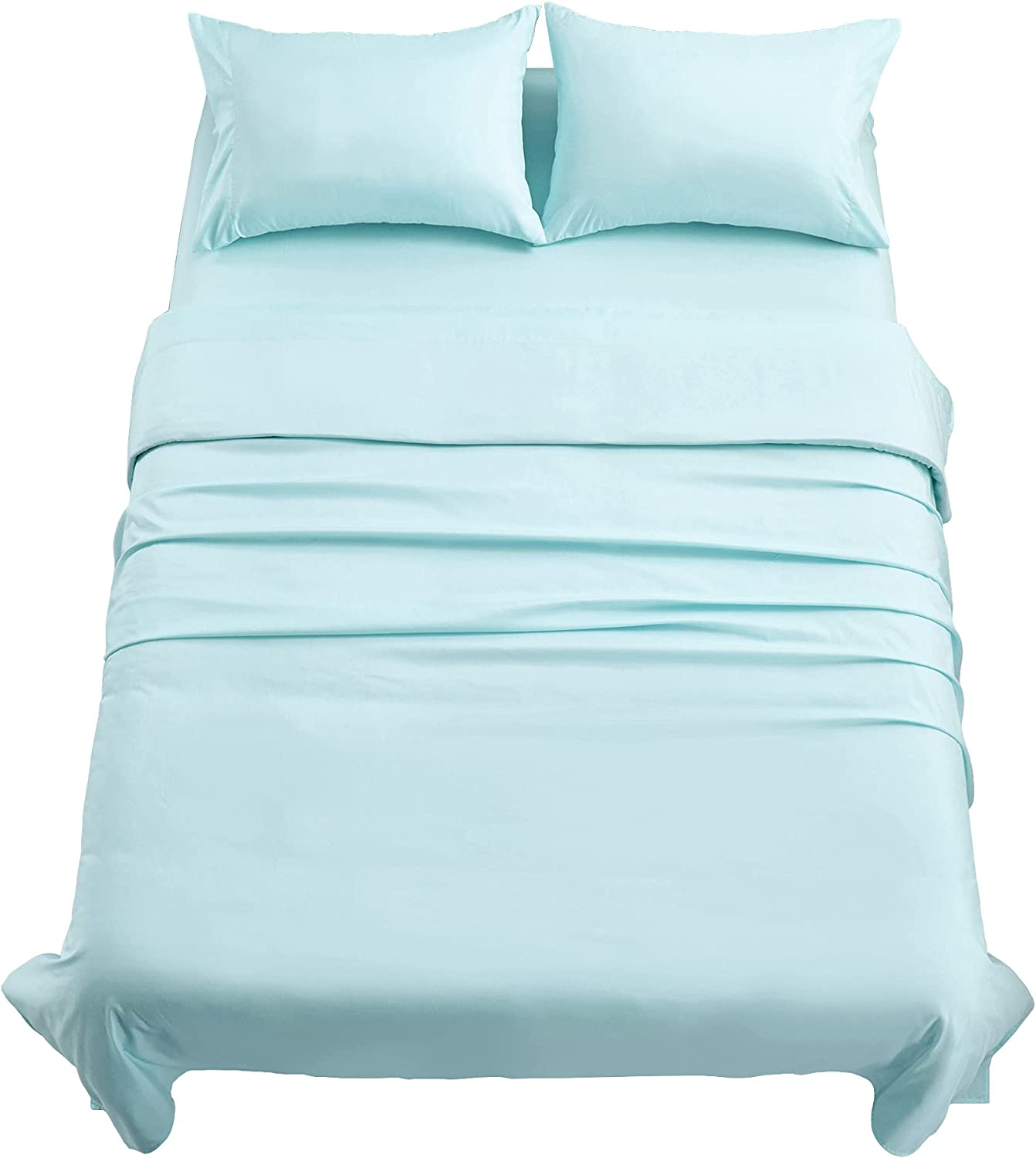 Mooreeke Bamboo Sheets Set Super beauty It is very popular product restock quality top Twin with Bed Pocket Cooling Sh Deep