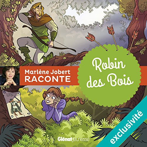 Robin des bois audiobook cover art