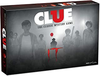 Clue IT Board Game | Based on The 2017 Drama/Thriller IT | Officially Licensed IT Merchandise | Themed Classic Clue Game