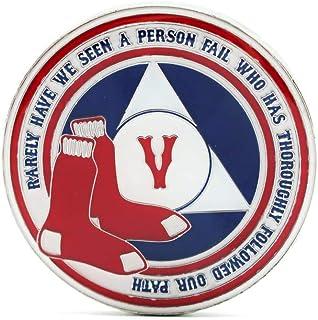 MyRecoveryStore 5 Year Alcoholics Anonymous Baseball AA Chip Medallion
