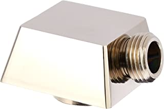 Delta Faucet 50570-PN Square Wall Elbow for Handshower, Polished Nickel