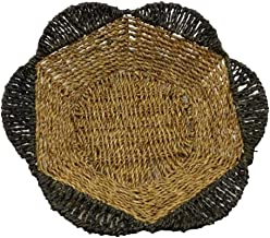 TOPBATHY Fruit Woven Basket Handmade Food Vegetables Serving Tray Fruit Bowl Basket Kitchen Bread Snacks Sundries Storage ...