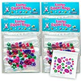 Easter Treat Bags ~ Bulk Resealable Plastic Ziplock Snack Bags for Easter Bake Sale Candy Cookies...