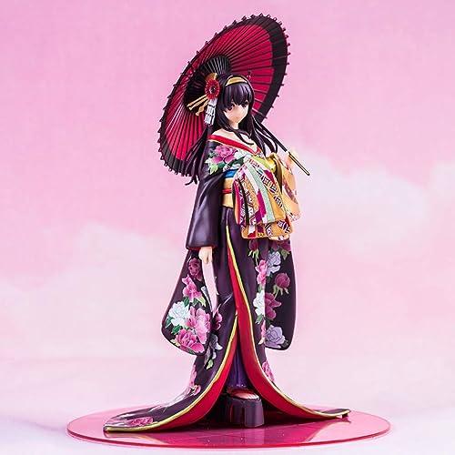 XIAOPING Xia Zhiqiu YU YU Kimono Jouet Sculpture voitureactère Sculpture Poupée Jouet Statue de Jouet