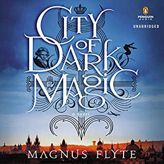 City of Dark Magic audiobook cover art