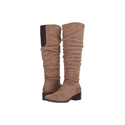 Kenneth Cole Reaction Salt Slouch Boot (Putty Microsuede) Women