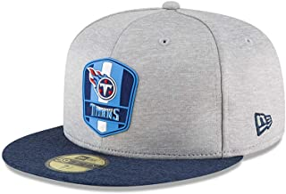 New Era Tennessee Titans NFL Sideline 18 Road On Field Cap 59fifty Fitted OTC