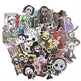 YUHANG Black Friday Horror Sticker Maleta Refrigerador Skateboard Laptop Graffiti Etiqueta Adhesiva 35 Uds