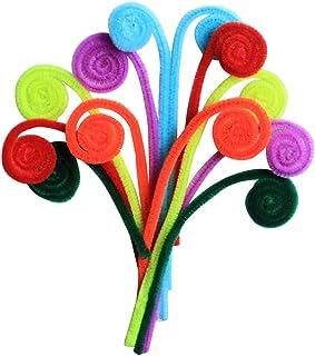 Aboofan 200 peças de limpadores de cachimbo de chenille para artesanato de artesanato de artesanato de artes faça você mes...