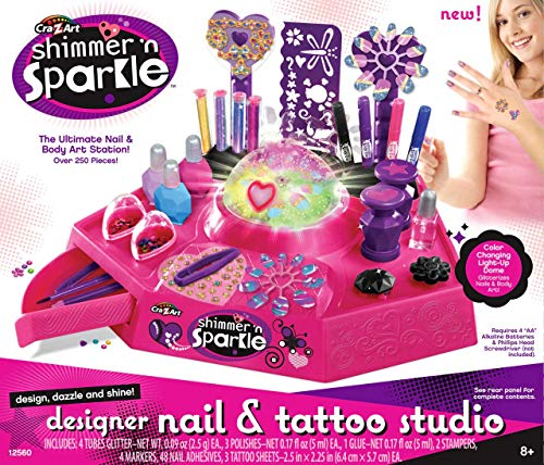 Cra Z Art Shimmer n' Sparkle Nail and Tattoo Studio